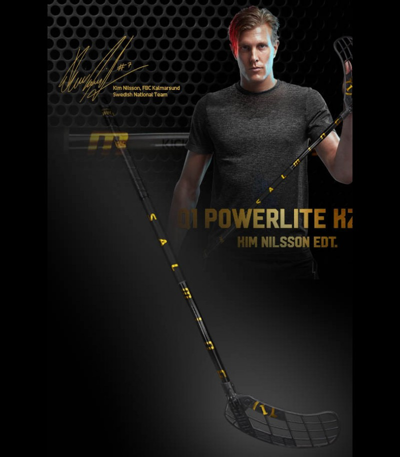 Salming Q1 Powerlite KickZone Kim Nilsson Worldcup Edition