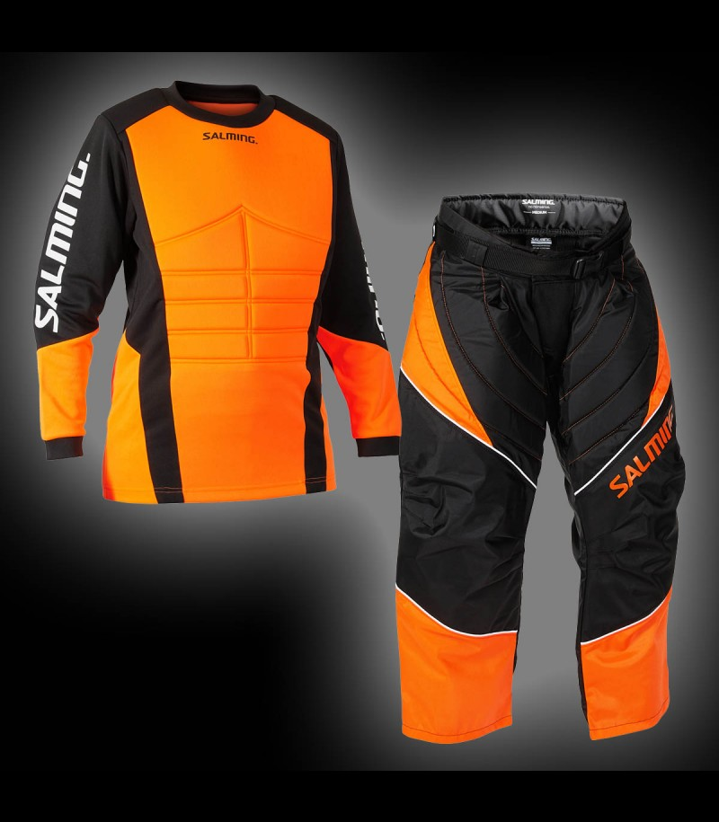 Salming Goalieset Atlas Junior black/orange