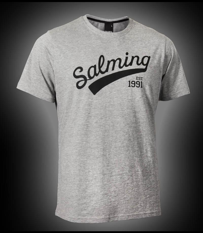 Salming Logo Tee Junior grey