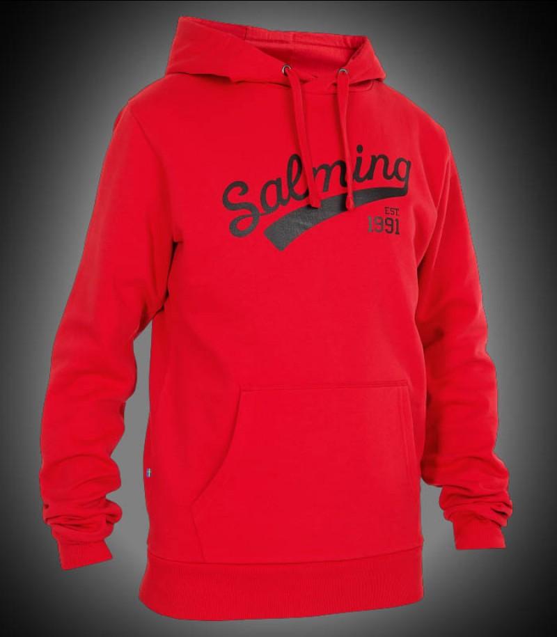Salming Logo Hood Junior red