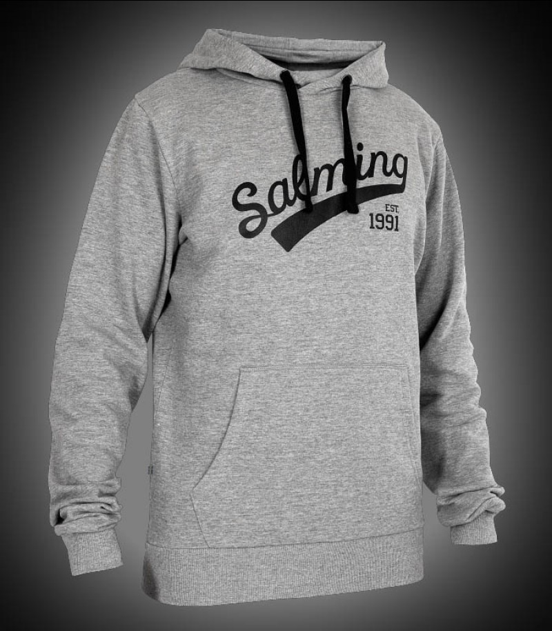 Salming Logo Hood Junior grey