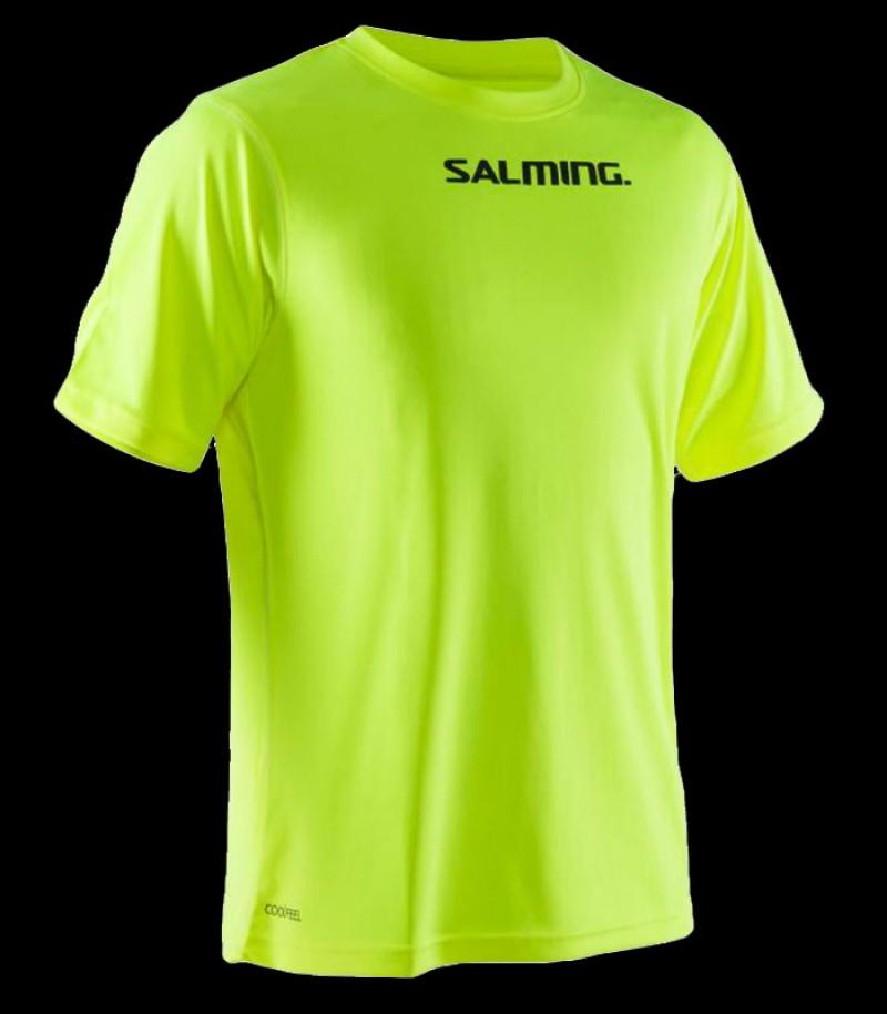 unihockeyshop_Salming Run Focus Tee Senior yellow