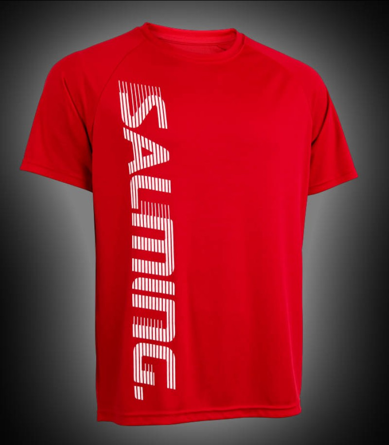 Salming Training Tee Junior red