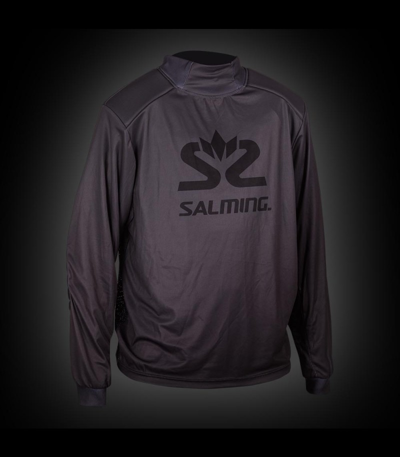 Salming Goalie Jersey Legend Senior dark grey/black